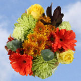 2 Fall Changing Colors Bouquets