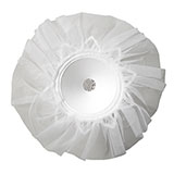"6"" LOMEY® Tulle Collar Bouquets"