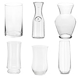 Clear Vases Choose Your Quantity From 4 to 72 Vases