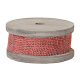 """1"""" OASIS™ Coral Jute Raws                                                              For Delivery to New_York"""