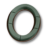 """4 (21"""") OASIS® Oval Wreath Maches"""