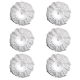 "10"" LOMEY® White Lace Collar Bouquets"