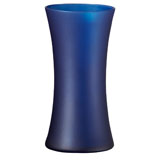 12 Nordic Blue Matte Gathering Vases                                                              For Delivery to Colorado