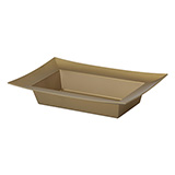 24 ESSENTIALS™ Gold Rectangle Bowls                                                               For Delivery to Rhode_Island