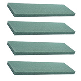 """10 (2"""" x 24"""" x 36"""") Green STYROFOAM®  Sheets                                                              For Delivery to Rhode_Island"""