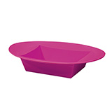 24 ESSENTIALS™ Strong Pink Oval Bowls