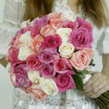 That Is It Wedding Combo D.I.Y. Roses - Callas - Alstroemerias & Fillers                                                              For Delivery to Montana