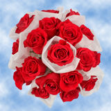 9 Super Fresh Red Roses Wedding Centerpieces