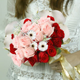 Just To Love Wedding Combo D.I.Y. Garden Roses - Mini Calla Lilies - Roses - Gerberas & Baby's Breath