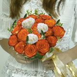 I Do Wedding Combo D.I.Y. Roses - Hydrangeas - Star of Bethlehem & Ruscus                                                              For Delivery to Oklahoma