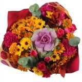 14 Thanksgiving Changing Seasons Bouquets                                                              For Delivery to Virginia