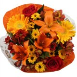 18 Indian Thanksgiving Arrangements                                                              For Delivery to Louisiana