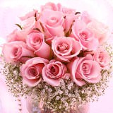 3 Beautiful Wedding Centerpieces with Light Pink Roses