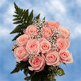 14 Dozen Assorted Colors of Roses & Fillers