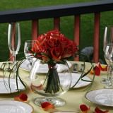 12 Best Wedding Centerpieces with Terracotta Roses
