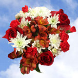 8 Happy Holidays Bouquets