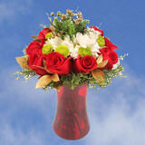 1 Christmas Tradition Arrangement with Vase