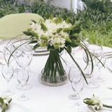 3 Wedding Table Centerpieces with Star of Bethlehem