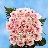 24 Stems of Pink Roses with Fillers