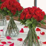 3 Wedding Centerpieces with Premium Roses