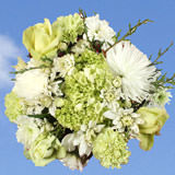 2 for 1 Snow Flakes Christmas Bouquets                                                              For Delivery to Missouri