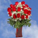 150 X Long Stems of Red Valentine's Day Roses