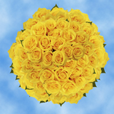 200 Assorted Yellow Roses