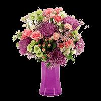 Joyful Heart Arrangement with Vase For Delivery to Lake_Geneva, Wisconsin