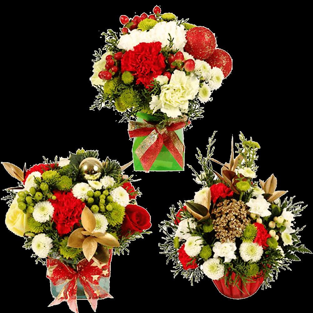 Christmas Bouquet Christmas Fresh Flowers Online   GlobalRose