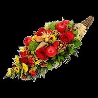 Thanksgiving Cornucopias Arrangement For Delivery to North_Las_Vegas, Nevada