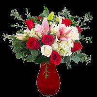 1 Sure Love! Valentine's Day Vase For Delivery to North_Carolina