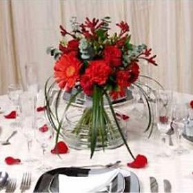 Best Red Wedding Centerpieces