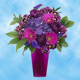 1 Twilight Magic Arrangement with Vase                                                              For Delivery to Lebanon, Oregon